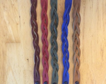 Leather Mystery Braid