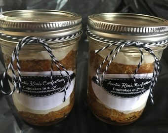 Cupcakes In A Jar - 2 Pack