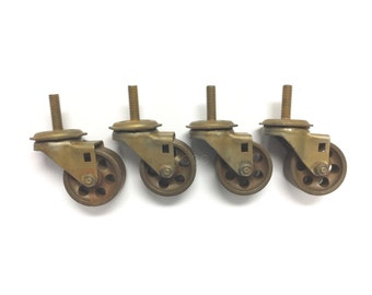 Vintage warehouse factory style casters
