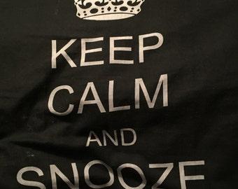 Keep Calm Pillow Large