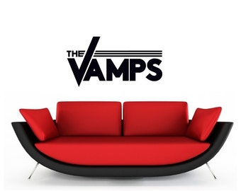 The Vamps vinyl Wall Art sticker decal graphics decor home