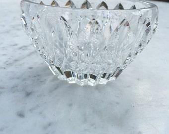 Cut glass vintage bowl