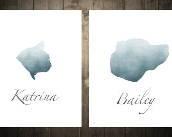 Personalized Pet Silhouette