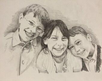Original Portraits in Pencil