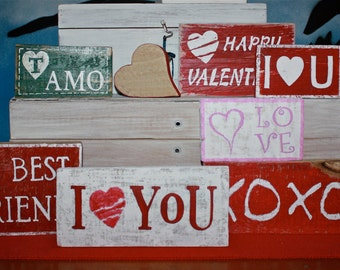small recycled wood signs hand painted pallet pallets also written upon request