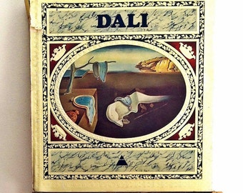 60's VINTAGE BOOK - DALI - 1st Edition - Rare Collectors Edition - 1968 Author | Max Gerard | Abrams