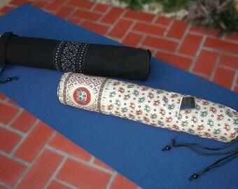 Thai Yoga & Pilates Mat Bag