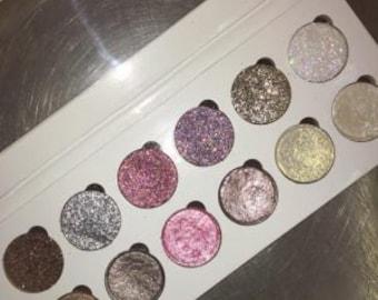 Glitter Eyes - Shimmer and Glitter Palette
