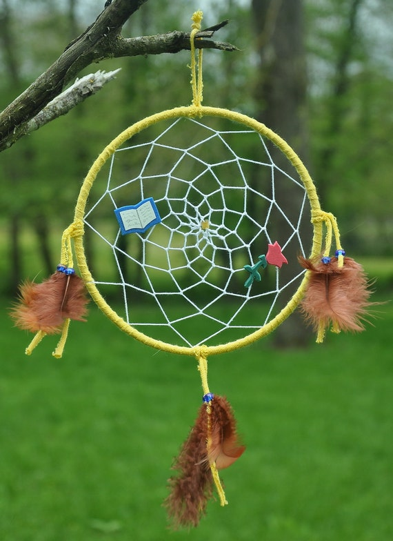 Beauty and the Beast-inspired Dreamcatcher