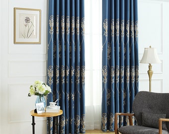 European Court antique embroidered linen curtain,curtains for living room,window curtain living room,window curtain