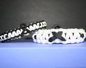 Wounded Warrior Paracord Bracelet (Supports the Wounded Warrior Project)
