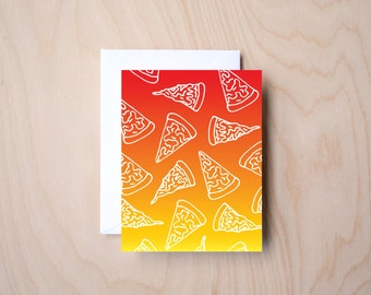 Keep it Cheesy (Pizza, Pizza Lover, Blank Card)