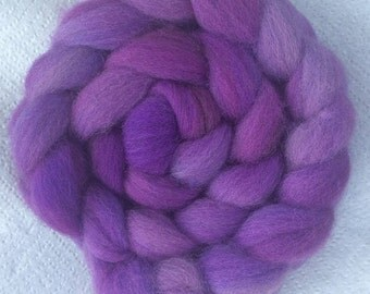 Cheviot Wool, hand-dyed, 4 oz.