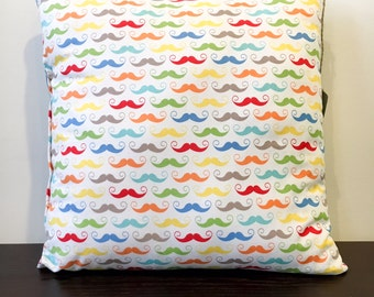 I Mustache Have You Pillow