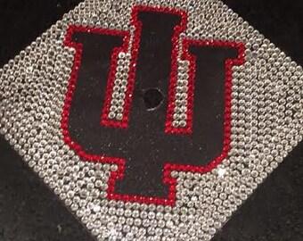 Rhinestone Graduation Cap