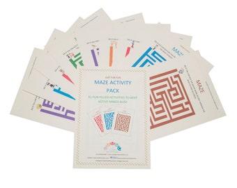 Maze Activity Pack