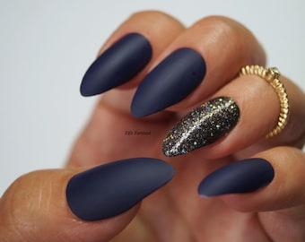 Kardashian inspired stiletto nails, Nail designs,  Stiletto nails, False nails, Acrylic nails, Pointy nails, Fake nails, press on nails