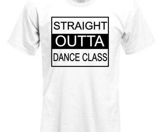 Straight Outta Dance shirt