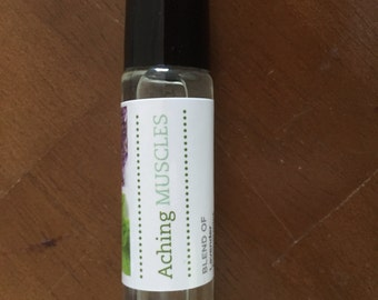 Aching Muscles Essential Oil Blend