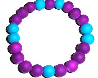 Neon Purple/Blue Bracelet