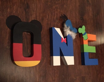 Custom Mickey & Friends Letters/Name