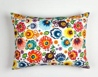 Bodoir pillows, Floral pillow cover, Colorful decor pillows, Pillow shams, Pillow cases, 12 x 16 pillow cover, Colorful Pillow Cases