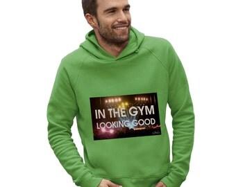 Men's In The Gym Looking Good Hoodie
