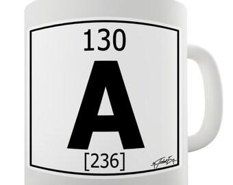 Periodic Table Of Elements A Ceramic Novelty Gift Mug