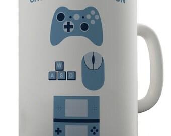 Choose Your Weapon Gamers Ceramic Novelty Gift Mug