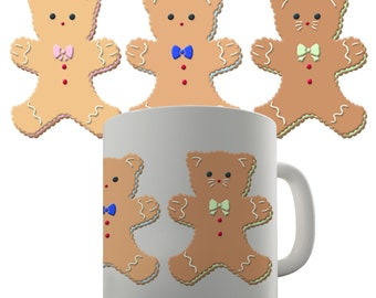 Gingerbread Animal Cookies Ceramic Mug