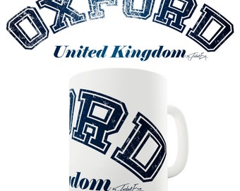 Oxford United Kingdom Ceramic Funny Mug