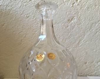 "Crystal decanter of Bavaria ""Nachtmann"""