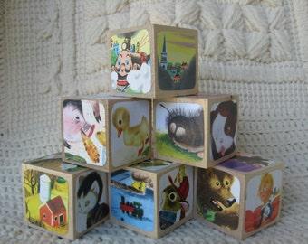 Little Golden Book Assorted Wooden Blocks