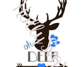Oh Deer SVG File
