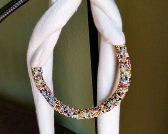 Masai-made Scarf Necklaces