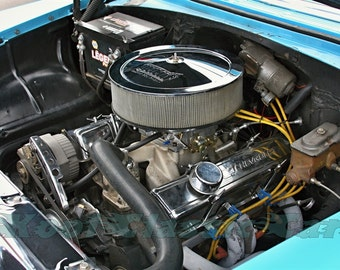 1955 Chevy Bel Air Engine