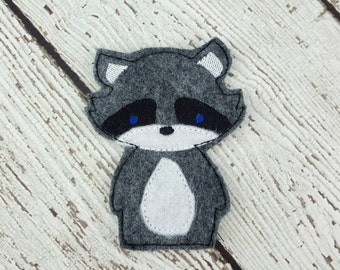 Summer Sale Raccoon Finger Puppet