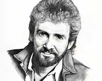 "11x14"" Keith Whitley2 Economy Print by Award Winning Artist, Corey Frizzell"