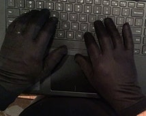 The Writer's Glove - SUMMER SPECIAL - Type @ Keyboards with Cold Hands - NOT Fingerless - Touchscreen Enabled - Grippy - Best Typing Gloves