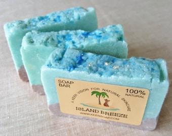 Island Breeze All Natural Sea Salt Soap