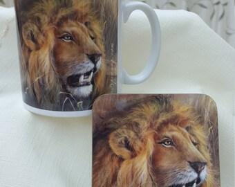 Mfalme Mug & Coaster