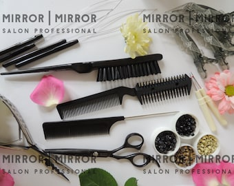 Hair Extension Micro Ring Micro Bead kit with step by step instructions Free UK Post