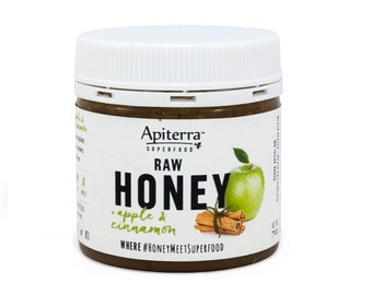 Apple & Cinnamon Honey | All natural organic Superfoods with Pure Honey