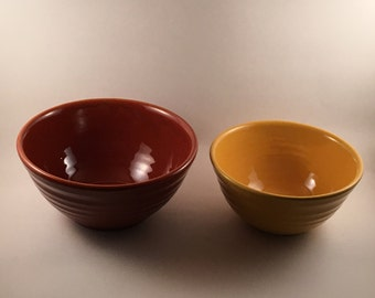 1940's California Ringware Nesting Bowls