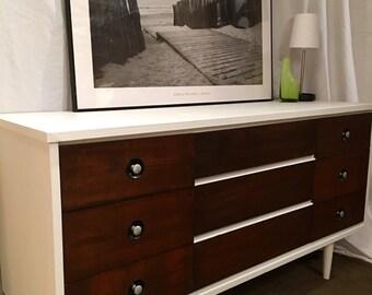 Mid century modern dresser set