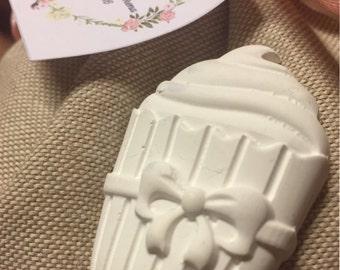 Cupcake scented plaster muffii