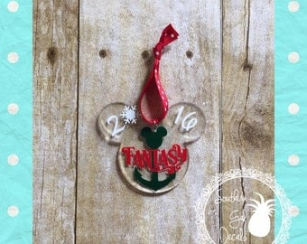 Very Merrytime Disney Cruise Inspired Fish Extender Ornament