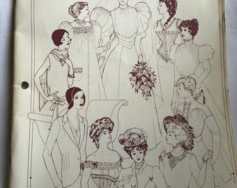 Past Patterns Book Illustrations of Fashion Between Victorian and Supersonic Ages