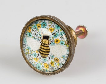 Busy Bee Draw Knob, Drawer Handle