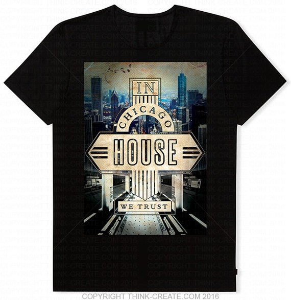 Limited edition classic iconic in chicago house we by for Classic underground house music